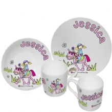 Bang on the Door Pony Girls Breakfast Set